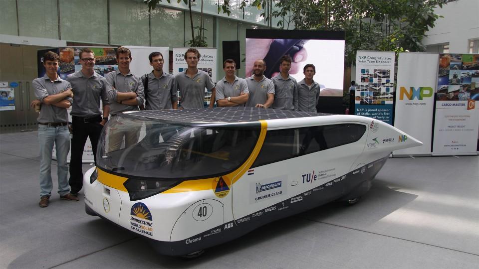 Stella en Solar Team Eindhoven