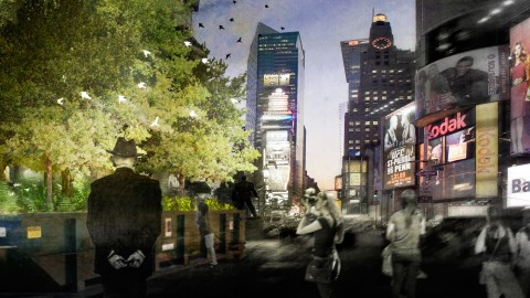 PopUP Forest Times Square