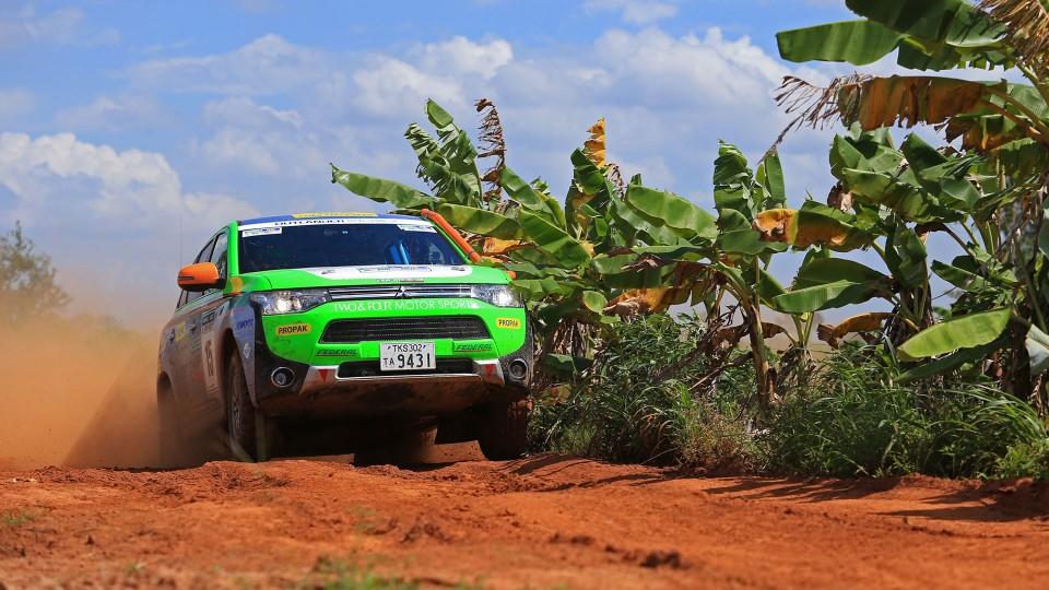 Mitsubishi Cross Country Rally 2014