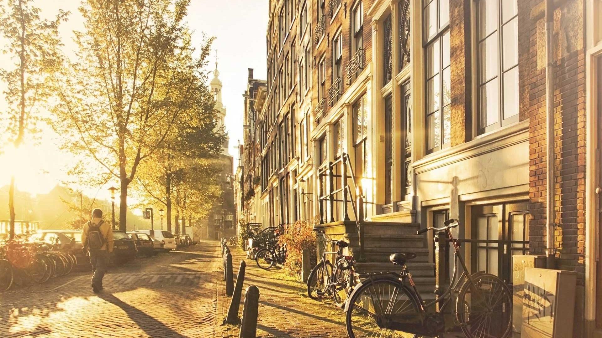 Amsterdam zon