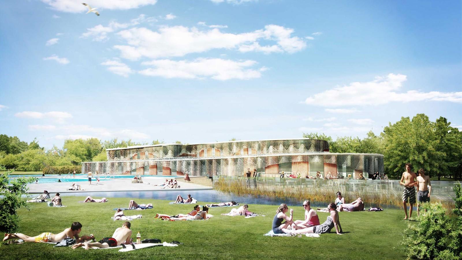 Noorderparkbad energiezuinigste zwembad in nederland