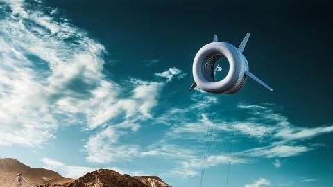 Vliegende windturbine van Altaeros