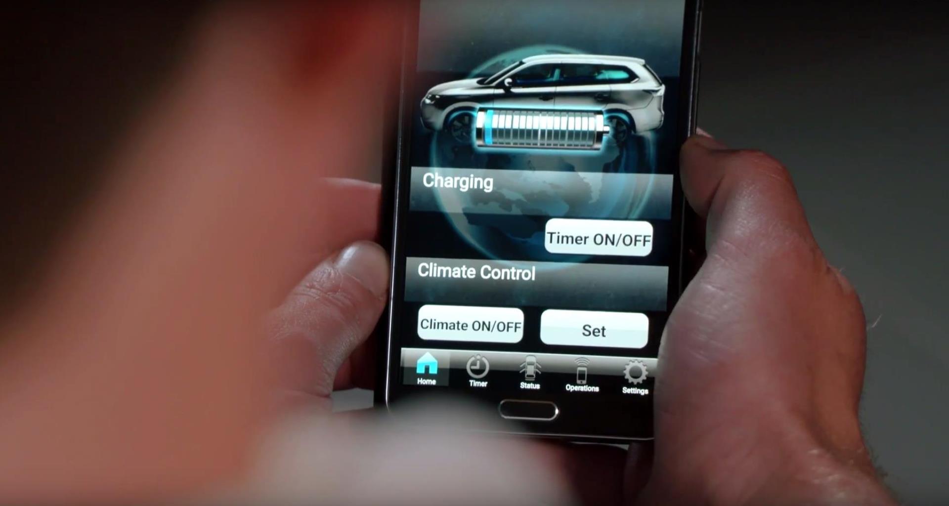 Mitsubishi Remote app