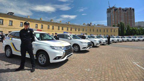 2017 Mitsubishi Outlander PHEV Fleet politie Oekraine