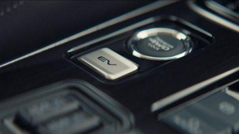 Mitsubishi Outlander PHEV EV Priority button