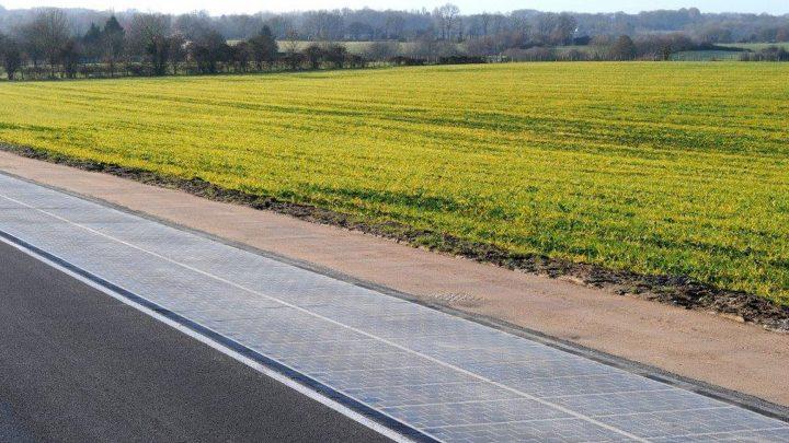 Solar road N401 Kockengen