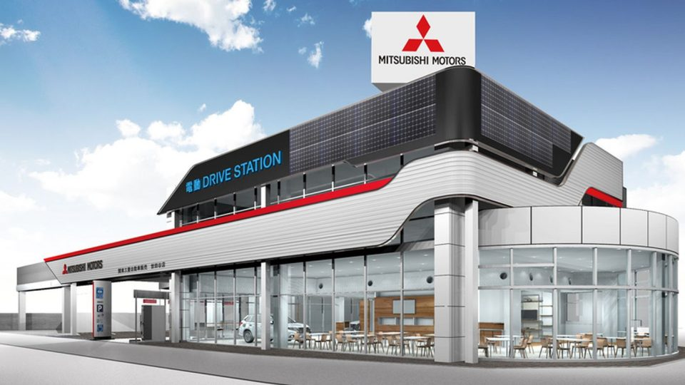 Mitsubishi Motors Hyper Energy Station