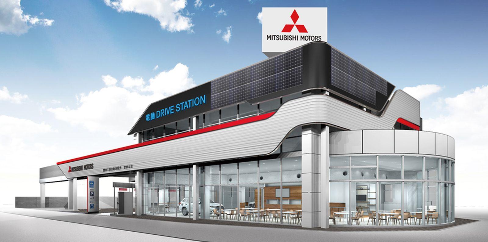 Mitsubishi Motors Hyper Energy Station